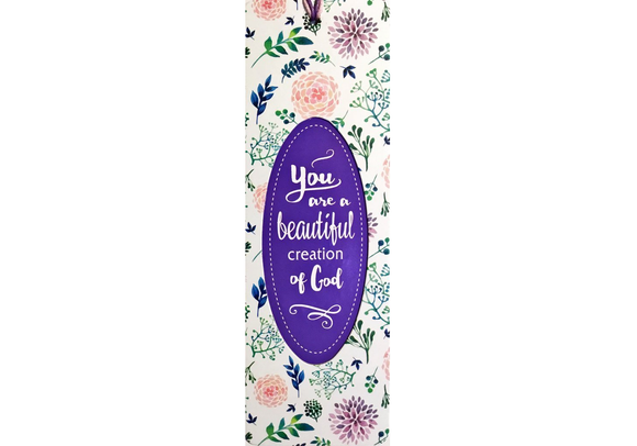 Dual Layer Bookmark: You Are A Beautiful Creation Of God - The Tree Stationery & Co. 大樹文房