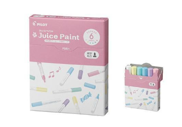 Juice Paint Marker (Pastel, 6-color/set) - The Tree Stationery & Co. 大樹文房