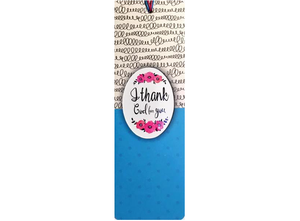Dual Layer Bookmark: Thank God for You - The Tree Stationery & Co. 大樹文房