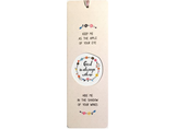 Dual Layer Bookmark: God Is Always With Me - The Tree Stationery & Co. 大樹文房