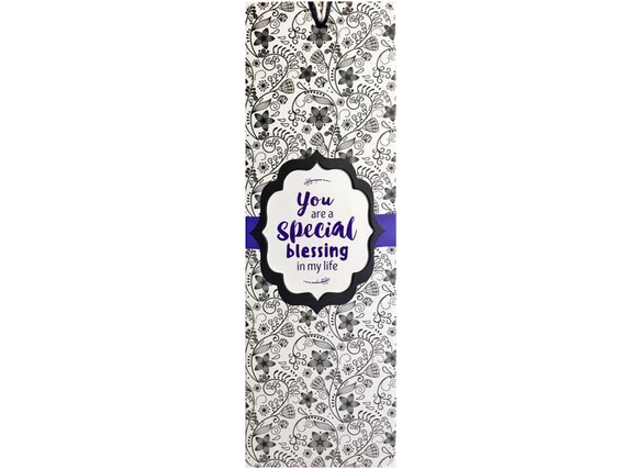 Dual Layer Bookmark: You Are A Special Blessing In My Life - The Tree Stationery & Co. 大樹文房