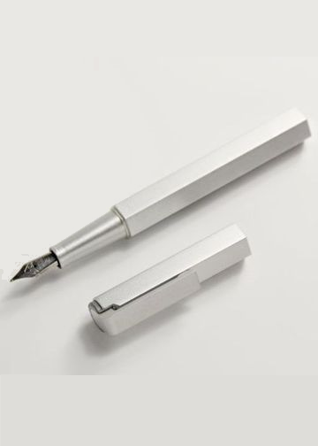 Compact Metal Fountain Pen - The Tree Stationery & Co. 大樹文房