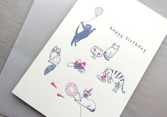Birthday - The Cats - The Tree Stationery & Co. 大樹文房