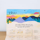2021 Wall Calendar 掛曆 - How To Survive A Disaster 如何撐過災難