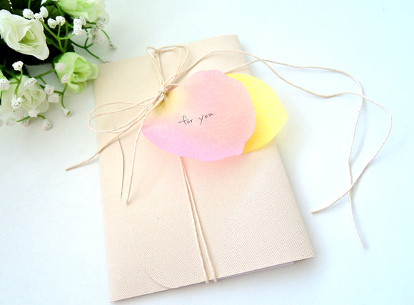 Flower Petal Memos - The Tree Stationery & Co. 大樹文房