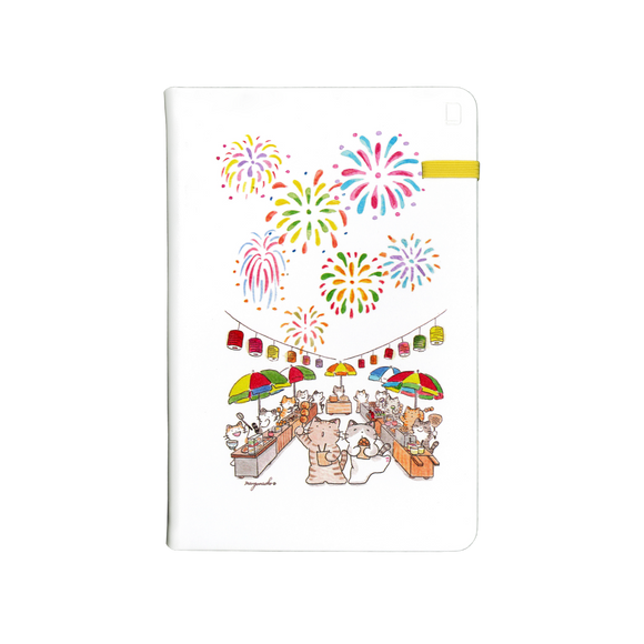 Modena Designer Notebook - Mango Naoko Collection: Firework / Dotted