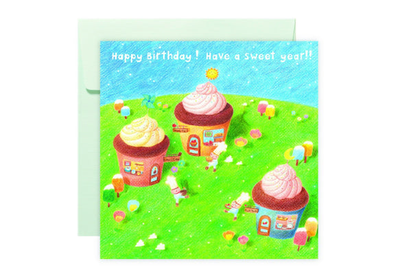 Cupcake Story Card 杯子蛋糕村故事卡 - The Tree Stationery & Co. 大樹文房