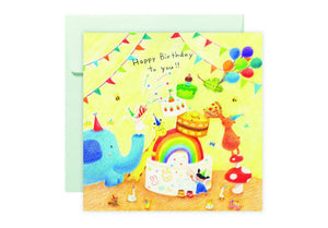 Birthday Party Card 生日派對卡 - The Tree Stationery & Co. 大樹文房