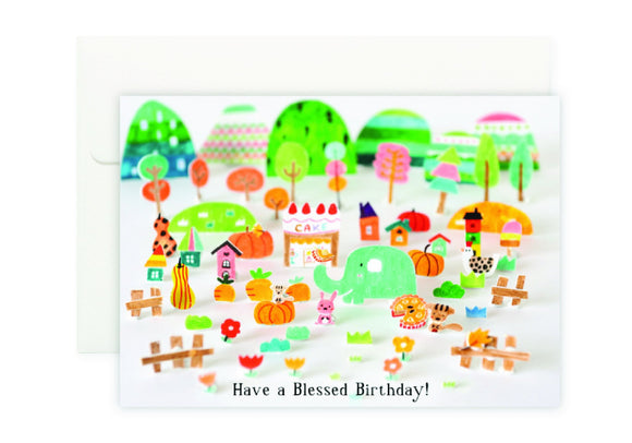 Blessed Card 滿滿祝福生日卡 - The Tree Stationery & Co. 大樹文房