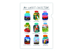 My Sunset Collection Folder 我的夕陽收藏文件夾 - The Tree Stationery & Co. 大樹文房