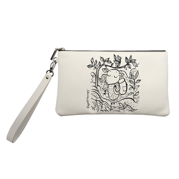 Modena x CupOfTherapy Collection (Design From Finland) Accessories Pouch - Sometimes Paradise is Close
