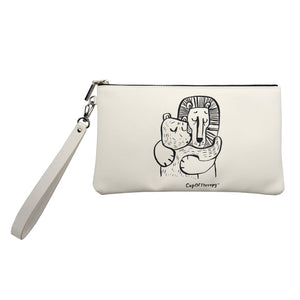 Modena x CupOfTherapy Collection (Design From Finland) Accessories Pouch - I'm Too Tired to Talk, but Let's Hug