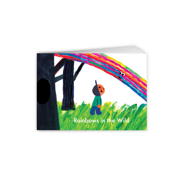 Rainbows in the Wild Storybook 野外的彩虹小書