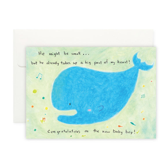 Baby Boy Card - The Tree Stationery & Co. 大樹文房