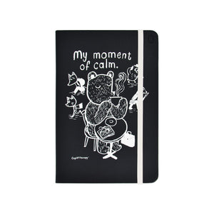 Modena x CupOfTherapy Collection (Design From Finland) A5 Notebook/Ruled - My Moment of Calm