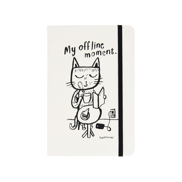 Modena x CupOfTherapy Collection (Design From Finland) A5 Notebook/Ruled - My Offline Moment