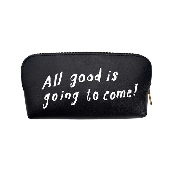 Modena x CupOfTherapy Collection (Design From Finland) Cosmetic Pouch - All Good is Going to Come