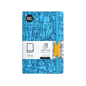 Modena x CupOfTherapy Collection Happy Together Series (Design From Finland) A5 Notebook/Ruled