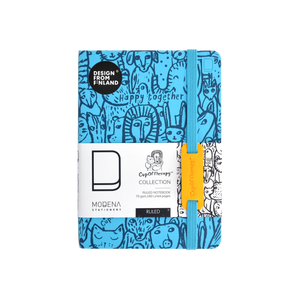 Modena x CupOfTherapy Collection Happy Together Series (Design From Finland) A6 Notebook/Ruled