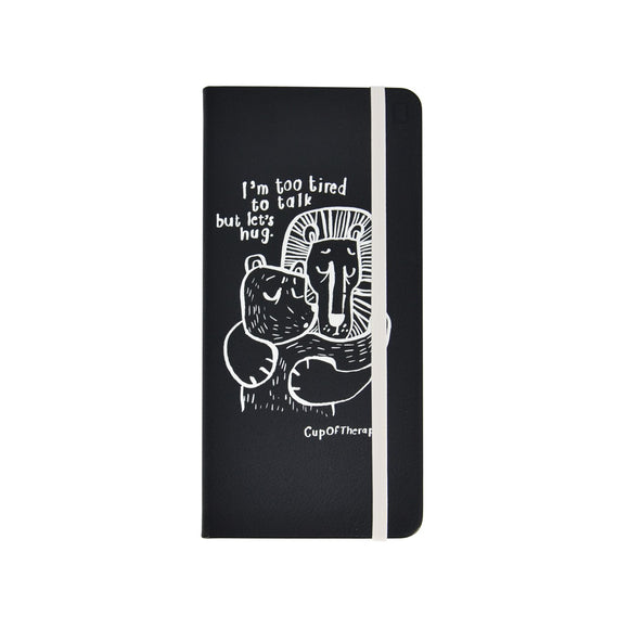 Modena x CupOfTherapy Collection (Design From Finland) Sketchbook - Black Lion