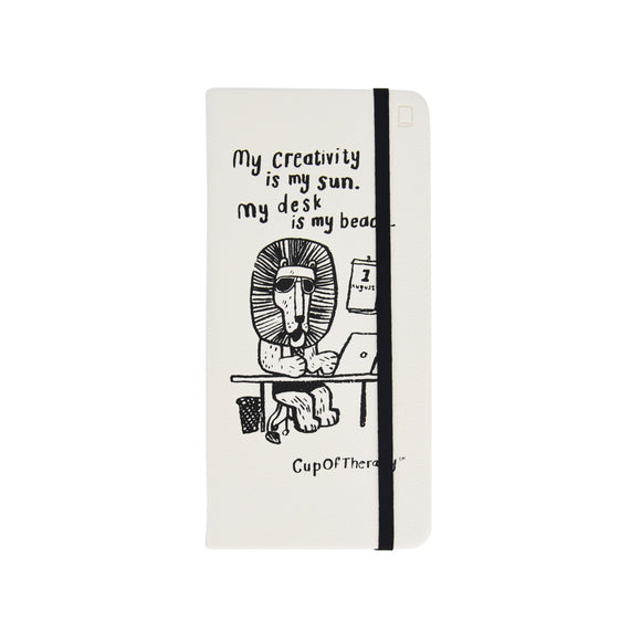 Modena x CupOfTherapy Collection (Design From Finland) Sketchbook - My Creativity is My Sun.