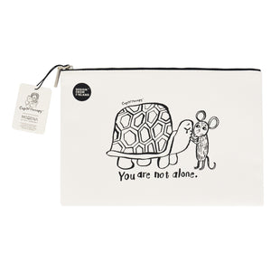 Modena x CupOfTherapy Collection (Design From Finland) Zipper Pouch - You are Not Alone