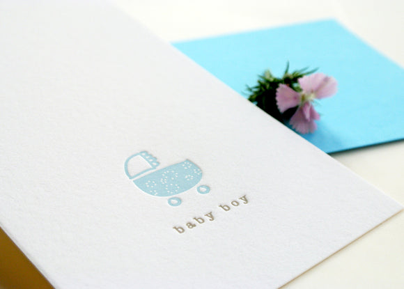Baby Stroller - Boy - The Tree Stationery & Co. 大樹文房