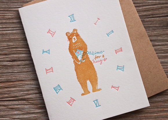 Bear Hug - The Tree Stationery & Co. 大樹文房