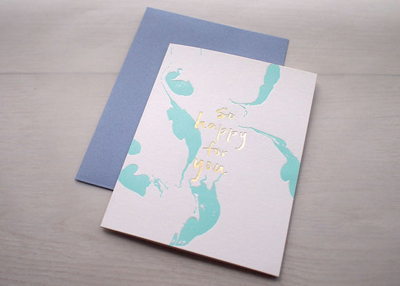 Impression Card / Happy Dance - The Tree Stationery & Co. 大樹文房