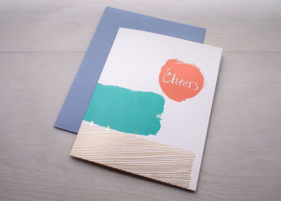 Impression Card / Cheers - Tree - The Tree Stationery & Co. 大樹文房