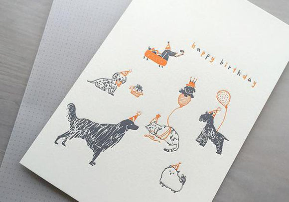Birthday - The Dogs - The Tree Stationery & Co. 大樹文房