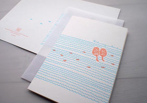 Holding Hands - Otters - The Tree Stationery & Co. 大樹文房