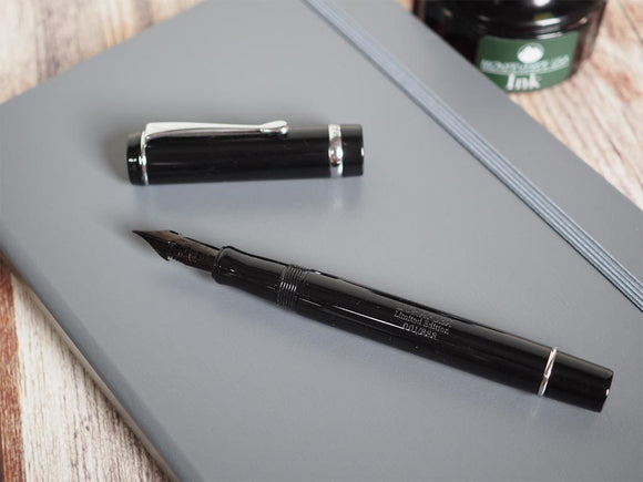 Duragraph Duraflex Limited Edition Fountain Pen (Flex Nib) - Chrome