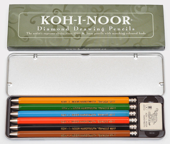 Diamond Set of Mechancial Pencils (6 colors) 52170N2001PL