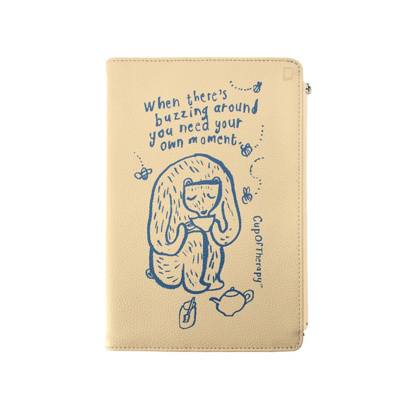 Modena x CupOfTherapy Collection (Design From Finland) Undated Diary - When There's Buzzing Around, You Need Your Own Moment