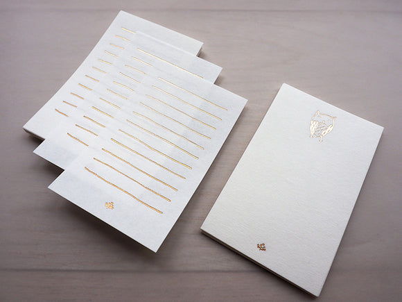 Memo Paper - Little Owl - The Tree Stationery & Co. 大樹文房