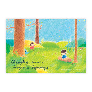 Seasons Postcard 季節明信片