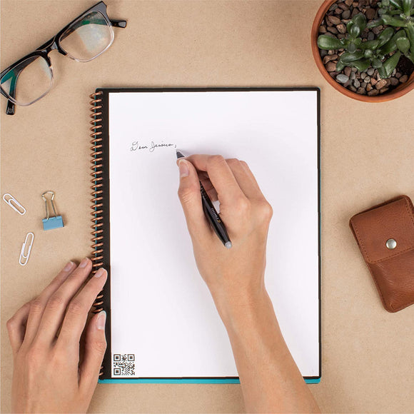 Rocketbook Smart Reusable Notebook: Core (Lined, Executive Size) Rocketbook 雲端智慧可重用筆記簿: Core (行線, Executive Size )