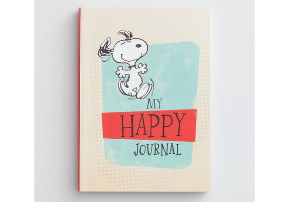 Snoopy My Happy Journal