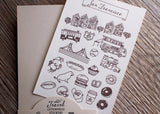 Travel Stickers - San Francisco