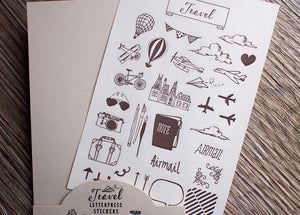 Travel Stickers - Travel