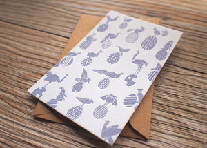 The Unknown Eggs Pattern Card