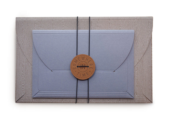 Wood + Fading Sunset Envelopes