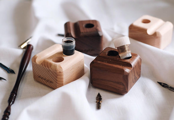 Wooden Dinky Dip Holder