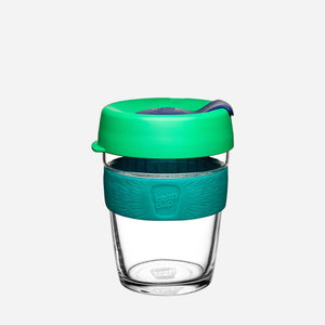 Brew Tempered Glass Coffee Cup (12oz)