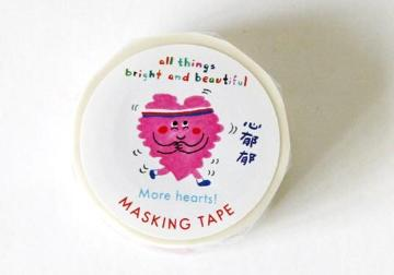 More Hearts! Masking Tape 更多心!紙膠帶 - The Tree Stationery & Co. 大樹文房