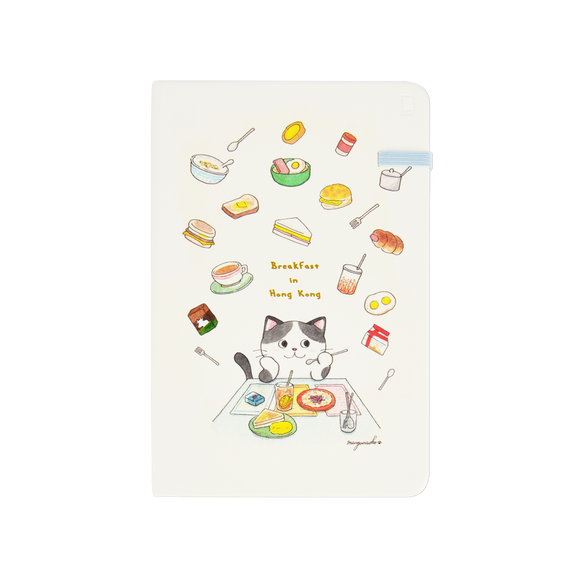 Modena Designer Notebook - Mango Naoko Collection: Breakfast / Plain