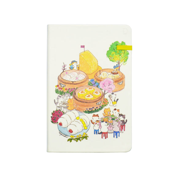Modena Designer Notebook - Mango Naoko Collection: Dim Sum / Ruled