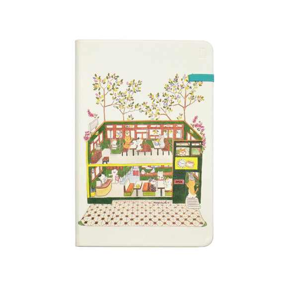 Modena Designer Notebook - Mango Naoko Collection: DingDing (HK Tram) / Dotted