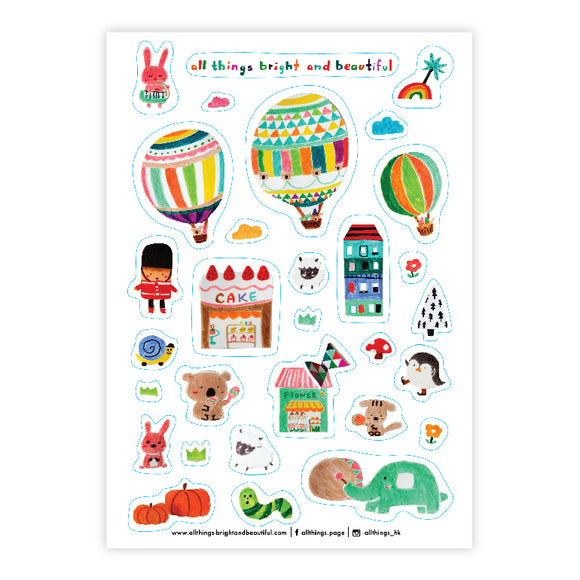 Cake Sticker - The Tree Stationery & Co. 大樹文房